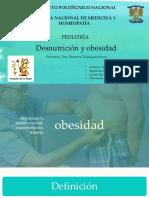 obesidad y desnutricion