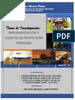 Implementacion de Equipos de Proteccion Personal