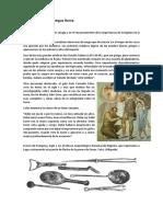 La Medicina en La Antigua Roma