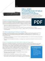 PowerEdge R740xd Spec Sheet LATAM Spanish