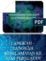 Pemasangan Peralatan Elektronik Industri