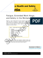 2010 Fatigue ExtendedWorkHours SafetyWorkplace ERG01