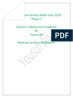 Recent Written Math View 2018