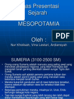 Presentasi Mesopotamia