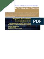 Programa de Textilización - Ciencias Textiles2
