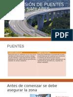 Supervisión de Puentes y Obras Similares