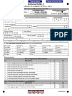 Instrumento Auto Evaluación Certificacion