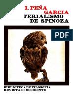 Peña, Vidal. El Materialismo de Spinoza. Madrid