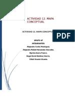 Actividad 12. Mapa Conceptual