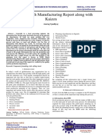 Advanced Batch Manufacturing Report Along With Kaizen