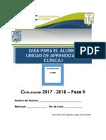 Guía para el Alumno. Clínica 1_17-18-Fase II.pdf