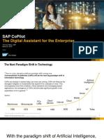 CoPilot for SAP SIG Leads2018!03!06
