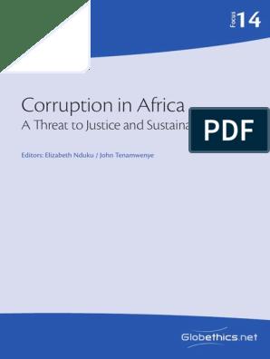 Corruption in Africa pdf | Corruption | Political Corruption