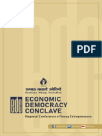 Economic Democracy Conclave Programme Report Booklet