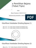 04_PAP01_Kriteria Pemilihan Tebal-Tipis Dinding Bejana