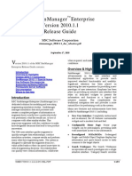 MSC SimManager Enterprise Version 2010.1.1 Release Guide