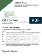 LPC2148 Timers