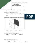 SLATE Paper Maths