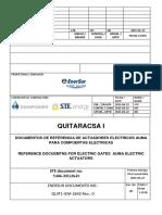 Actuadores eléctricos AUMA para compuertas eléctricas