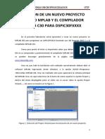 Creación de Un Proyecto Mplabc50