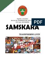 Samskara 2018 Brochure