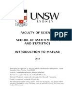 Matlab Intro