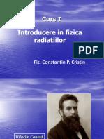 Curs I- Introducere in Fizica Radiatiilor