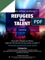 Refugees Got Talent 2018