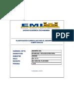 Plan de Trabajo - Estabilidad y Tipologia Estructural