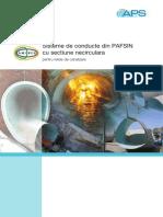 Conducte Din PAFSIN Cu Sectiune Necirculara