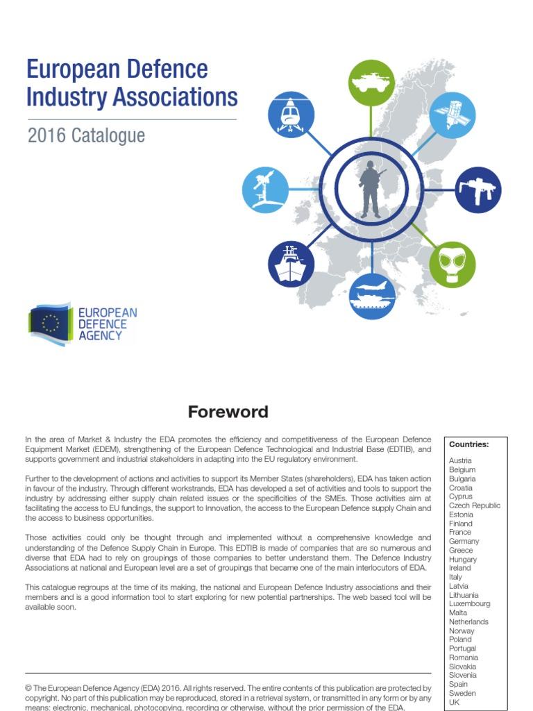 80209757e0a007 European Defence Industry Associations Catalogue 2016