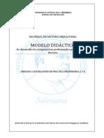 Fichas Del Modelo Didáctico