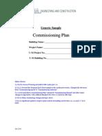 Sample Cx Plan Master