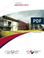 Ufs Business School Brochure