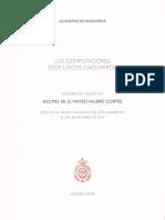 Mateo Valero Cortés_Los Computadores. Esos Locos Cacharros. Lección Inaugural 2003.pdf
