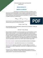 Glosario N°8 Equilibrio en soluciones