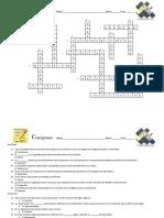Crucigrama Listo