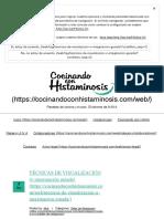 TÉCNICAS DE VISUALIZACIÓN (o imaginación guiada) Archivos - Cocinando con histaminosis
