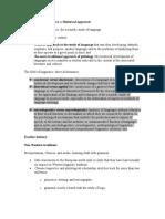 Short Historical Approach on German Linguistics