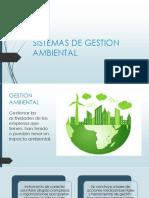 Sistemas de Gestion Ambiental