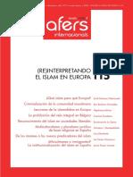 Revista Afers-Reinterpretando El Islam en EUR
