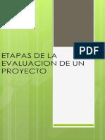 Flujograma Evaluacion de Un Proyecto