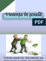 Violenta in scoala PROIECT.pptx