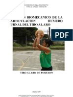 ANALISIS BIOMECANICO DEL TIRO AL ARO DE POSICION