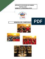 Memoria Equipos Madrid 2014