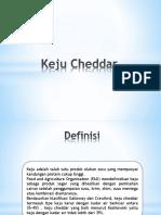 ppt kimia pangan tentang karakteristik perbandingan keju cheddar dan keju ricotta