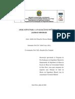 Dissertação Avaliação Empreendimento