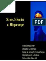 Sonia Lupien Stress Cerveau