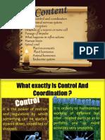 Control & Coordination