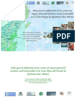 Atlas turístico de la Zona Maya